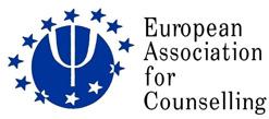 Logo voor europese counseling, kenmerk voor vergoeding counseling